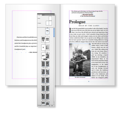 Book layout and design software